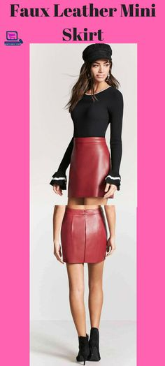 faux leather mini skirt #miniskirt #miniskirt, #skirt #womenskirts mini skirt | mini skirt high heels tight dresses | mini skirts micro | mini skirts and high heels | mini skirt and heels | Hot Mini Skirts | Mini Skirt Mania | Mini skirt | Mini skirts | Mini Skirt Style Wedding Dresses | Mini Skirts & Short Hems |
