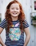 Mini Boden apple tee. So cute for back to school