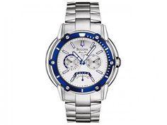 Relógio Masculino Bulova Analógico - Resistente à Água Cronógrafo - Com as melhores condições você encontra no Magazine Shopspremium. Confira!