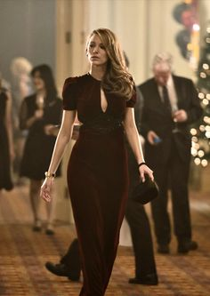 "Blake Lively in ""The Age Of Adaline"". 1940's gown."