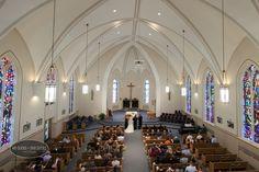 Ashton and Phil | Bloomington, IL Wedding Photography | St Mary's Catholic Church and Holiday Inn