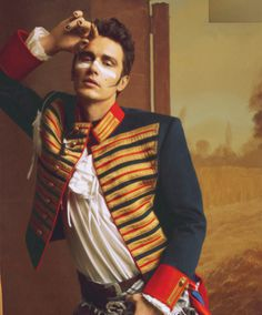 James Franco as Adam Ant         James Franco as Adam Ant.  PERFECT !      THIS charming MAN!……….No.1