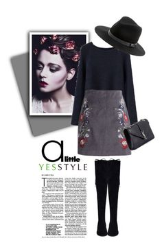 """""""YESSTYLE.com"""" by monmondefou ❤ liked on Polyvore featuring Yves Saint Laurent, Sole Society, Winter and yesstyle"""