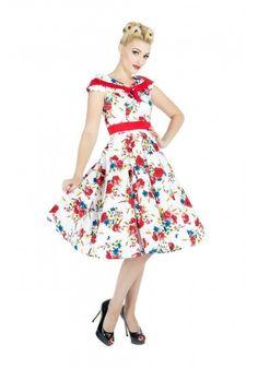 H & R 9468 Darling Dress Pinup Vintage Inspired Hot Rod Bridesmaid Retro  #HRLondonHeartsandRosesDress #partyvintagestylevtgpinuprockabillyretro #Casual