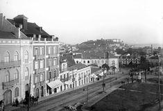 Panorâmica Campo dos Mártires da Pátria, Largo do Mitelo, Largo do Mastro (início séc. XX), Paulo Guedes in AML