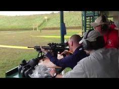 Blind veteran, Michael Jernigan,  USMC - Nails the moving target - YouTube