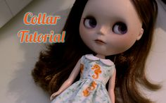Oh Strumpets! Blythe too!: Collar Tutorial
