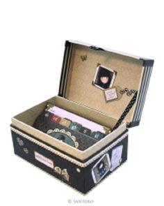 Caja direcciones con separadores diseño A-Z y 150 tarjetas dirección Gorjuss españa es PaperIdea, solo productos originales