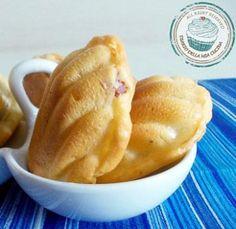 Madeleine con Robiola, noci e pancetta - Ricette green dai food blogger - Ricette