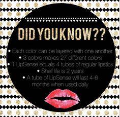 Did you know? www.senegence.com/TimelessEleganceByTara #lipsense #senegence