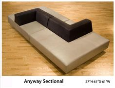 Design 9: Anyway Sectional. No price.