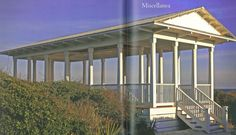 Pavilion in Seaside, FL designed by Scott Merrill's firm. Proportion and scale as well as appropriateness are important ingredients in a successful classic building.