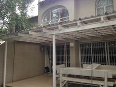 We do the installation of patio roofs to create comfortable and waterproof entertainment areas