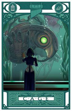 C-A-G-E: Bioshock Infinite by *Sabtastic