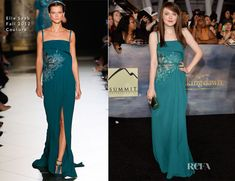 Dakota Fanning In Elie Saab Couture - 'The Twilight Saga Breaking Dawn - Part 2' LA Premiere