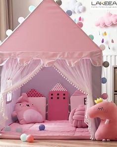 A safe little space for kids to explore the ever-expanding mind while in the playroom frontier. Cozy Teen Bedroom, Diy Home Decor Bedroom, Playroom Decor, Baby Room Decor, Playroom Ideas, Wall Decor, Girls Room Design, Teen Bedroom Designs, Baby Room Design