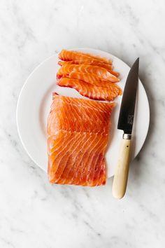 Beet & Honey Cured Salmon