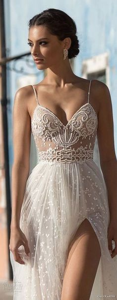 White bride dresses. All brides want to find themselves finding the perfect wedding, however for this they require the perfect bridal gown, with the bridesmaid's dresses actually complimenting the brides-to-be dress. Here are a few suggestions on wedding dresses. #weddingdress