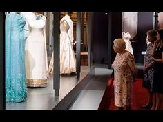 The Queen visits exhibition showcasing 150 of her outfits http://royalam.blogspot.com/2016/07/the-queen-visits-exhibition-showcasing.html