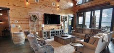 51 Of The Absolute Best Barndominium Pictures On The Internet Barndominium Pictures, Barndominium Floor Plans, Kitchen Dining Combo, Living Dining Combo, Metal Building Homes, Building A House, Copper Farm Sink, Old Barn Doors, Barn Siding