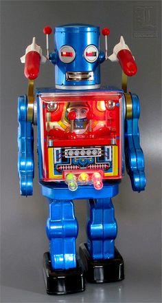 MECHANIZED APOLLO ROBOTEER in Action!