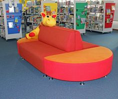 Library seating that adds colour and inspiration to your library
