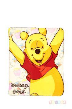 Plaid Winnie l'Ourson | https://twitter.com/Tolukicom #enfant #pyjama #Disney #winnie