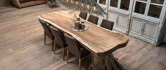 Boomstamtafels | Houweling Interieur - Eigentijds klassieke meubelen met oog voor sfeer