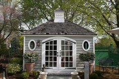 Every thought about how to house those extra items and de-clutter the garden? Building a shed is a popular solution for creating storage space outside the house. Whether you are thinking about having a go and building a shed yourself Backyard Sheds, Outdoor Sheds, Garden Sheds, Garden Tools, Pool Shed, Garden Paths, Gazebo, Pergola, Diy Shed Plans