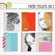 Pretty Pockets no.2 by Pink Reptile Designs #digitalscrapbooking #digiscrap