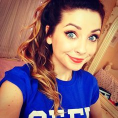 Zoella aka my favorite youtuber http://www.youtube.com/user/zoella280390/videos?view=0