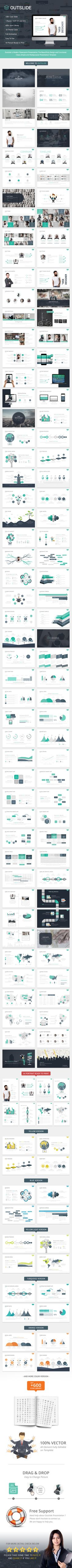 OUTSLIDE - PowerPoint Presentation Template. Download here: http://graphicriver.net/item/outslide-presentation-template/15832653?ref=ksioks