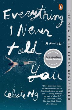 """A Book Review: Read: """"Everything I Never Told You"""" http://www.michellealynn.com/blog/2016/read-everything-i-never-told-you"""