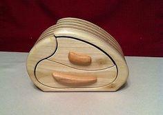 Reclaimed Poplar Pallet Wood/Oak Plywood Jewelry/Keepsake Box