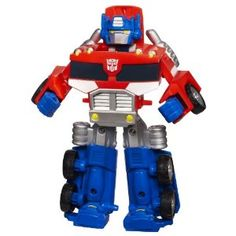 Transformers Rescue Bot Optimus Prime  by Transformers  4.2 out of 5 stars  See all reviews (54 customer reviews) | Like (19)  Price:	$12.99 & eligible for FREE Super Saver Shipping on orders over