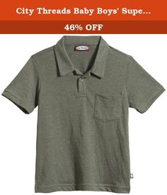 City Threads Baby Boys' Super-Soft Jersey Polo (Baby) - Turtle - 9-12 Months. City Threads Super-Soft Jersey Polo (Baby) - Turtle Outfit your kids in the coolest West Coast styles with City Threads. Covering babies through tweens, the brand was voted #1 BoyGÇÖs Clothing Line in a national contest GÇô but theyGÇÖve got bright, brilliant offerings for every kid in your family.