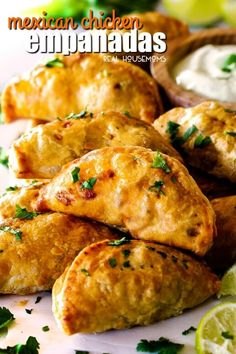Shortcut beef empanadas recipe food recipes pinterest mexican chicken empanadas are an irresistible appetizer dinner or snack that can be made ahead of time and frozen for later forumfinder Gallery