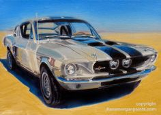 Shelby Cobra GT 500 (1967 Mustang) by Diane Morgan