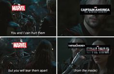 Marvel Captain America: The Winter Soldier and Captain America: Civil War Meme || SO TRUE!! D: