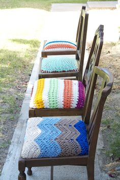 Crochet Covered Seats: Inspiration only!