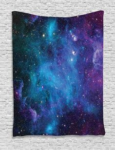 Night Star Galaxy Space Wall Tapestry