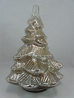 "Mercury Glass Christmas Tree 11"" Tall Susan B https://smile.amazon.com/dp/B015457IK0/ref=cm_sw_r_pi_dp_3f.Ixb9BKN1A9"