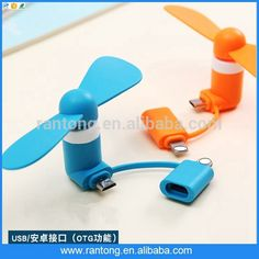 Portable Mobile Phone USB Mini Fan for iPhone and for Android mobile phones