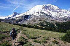 Shades of Mount Rainier on the Wonderland Trail - Seattle Backpackers Magazine Backpacking Trails, Hiking Trails, Wonderland Trail, Great Wide Open, Walden Pond, Mount Rainier, Trekking, Trip Advice, Road Trip