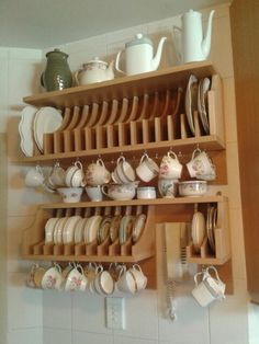 Teacup and plate unit that I made.I used pink beech as my wood