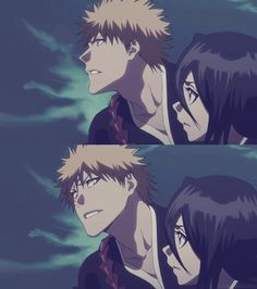 Look at how Ichigo looks at Rukia~~ #ichiruki #bleach