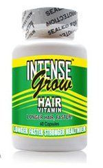 Intense Grow Long Hair Vitamins 1 month Supply 60 caps by Intense Grow. $14.95. Beautiful, Bouncy Hair!. Double Hair Growth!. Long, Sexy, Shiny Hair!. Fast Hair Growth Naturally!. If you have every dreamed of having long, thick, luxurious hair, then Intense Grow long hair vitamins are for you!  No need for hair extensions to get long, thick, sexy, healthy hair!  Intense Grow will boost your self-image and provide incredible affordable results.