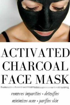 point face mask Activated Charcoal Face Mask - This lovely little mask is amazing at killing bacteria, getting rid of acne, and giving your face a nice deep cleaning, plus its a fun way to scare family members. Face Mask For Blackheads, Acne Face Mask, Diy Face Mask, Skin Mask, Activated Charcoal Face Mask, Charcoal For Face, Activated Charcoal Capsules, Diy Cosmetic, Diy Masque