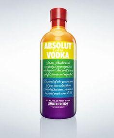 absolut vodka rainbow