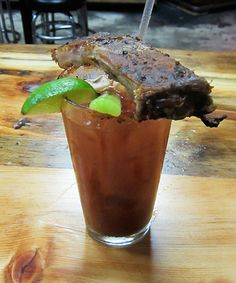There's something about the Bloody Mary that inspires people to get...inventive. In that spirit, here are 9 of the most over-the-top Bloody Marys ever.